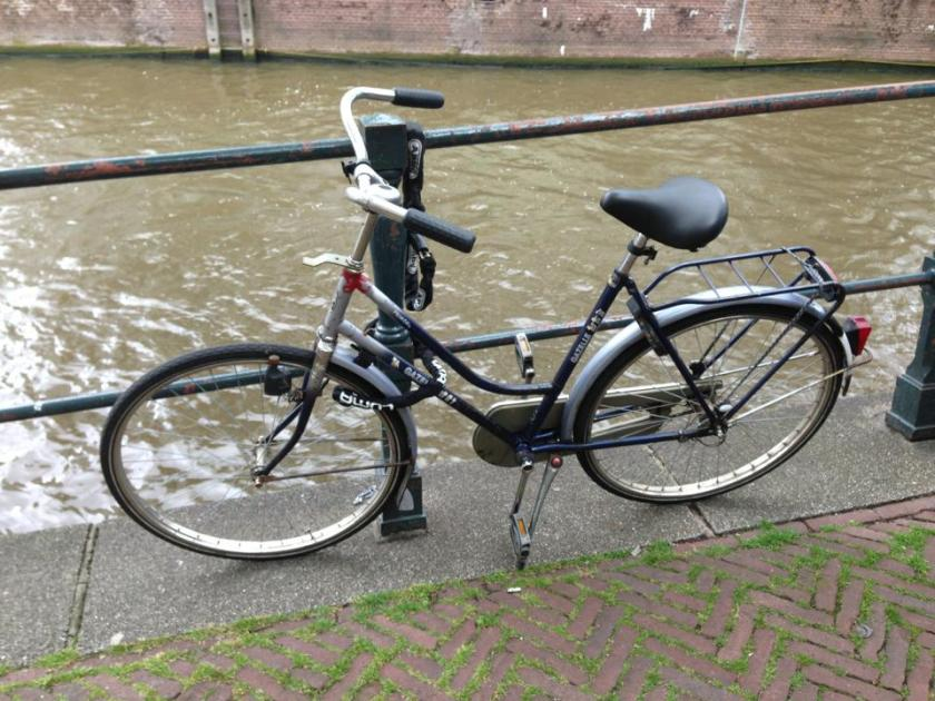 Ginger, my beloved bike that I had to sell when I left Amsterdam.