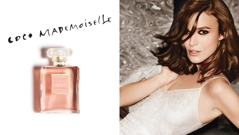 We can't all look like Keira Knightley, but now we can smell like her.  www.chanel.com