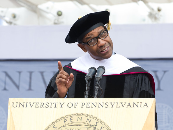 Denzel Washington University of Pennsylvania Commencement 2011