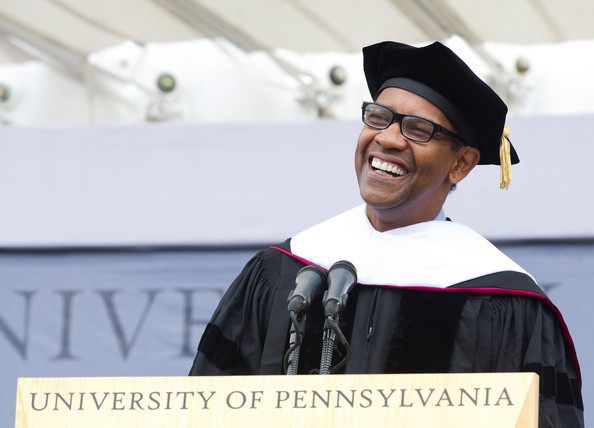 Denzel Washington University of Pennsylvania 2011